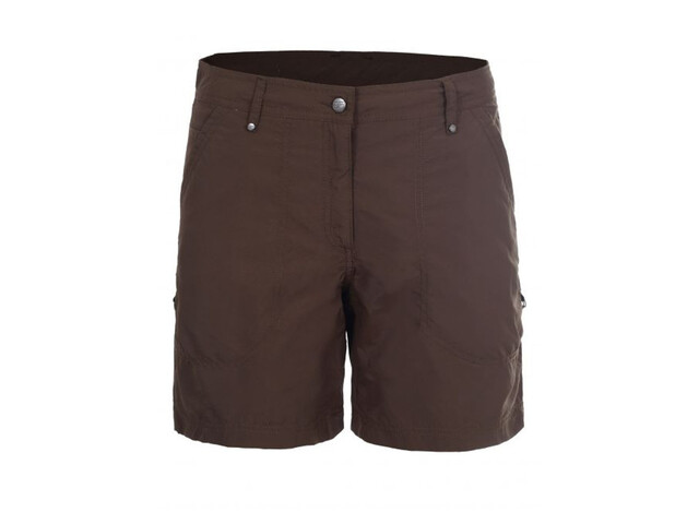 Icepeak Lilja Pantalones cortos Mujer, dark brown